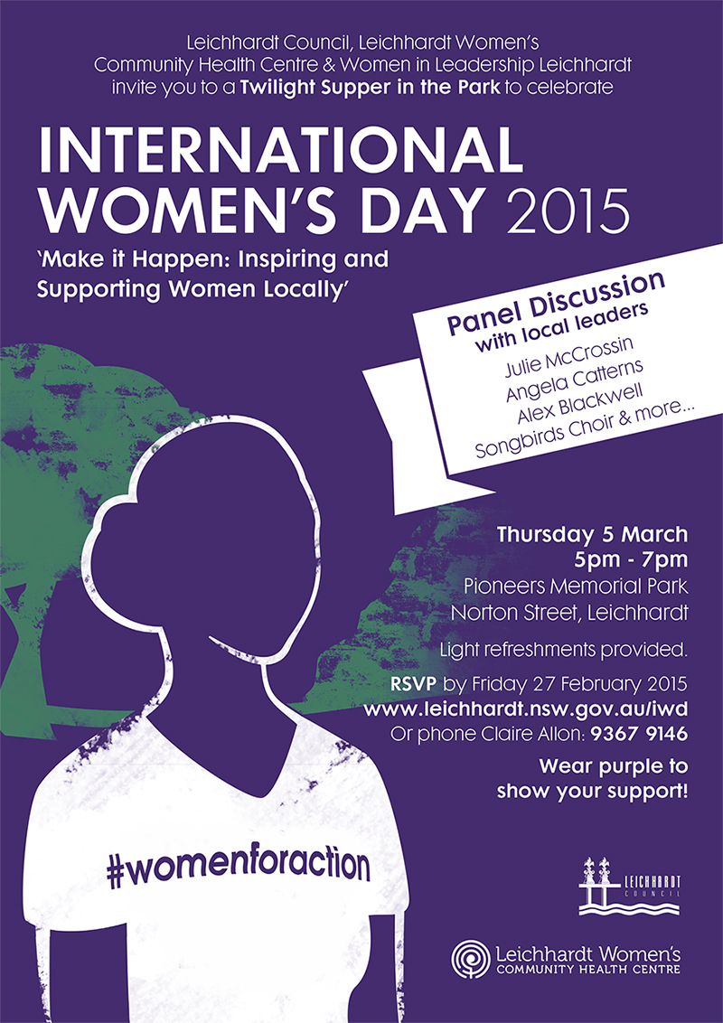 You Re Invited To Celebrate INTERNATIONAL WOMEN S DAY With